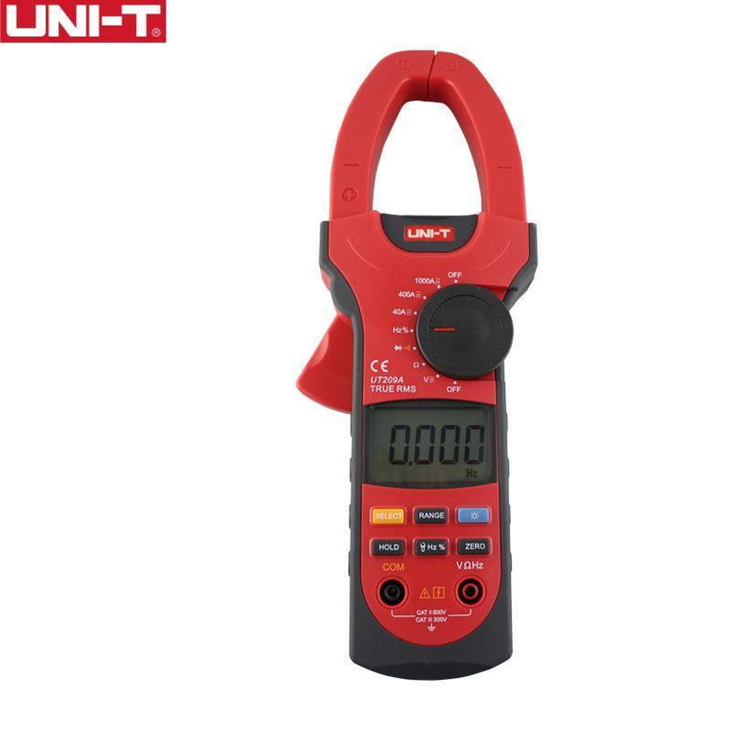 UNI-T UT209A 1000A Digital Clamp Meters Frequency Measure Multimeter Auto Range Capactance Resistance