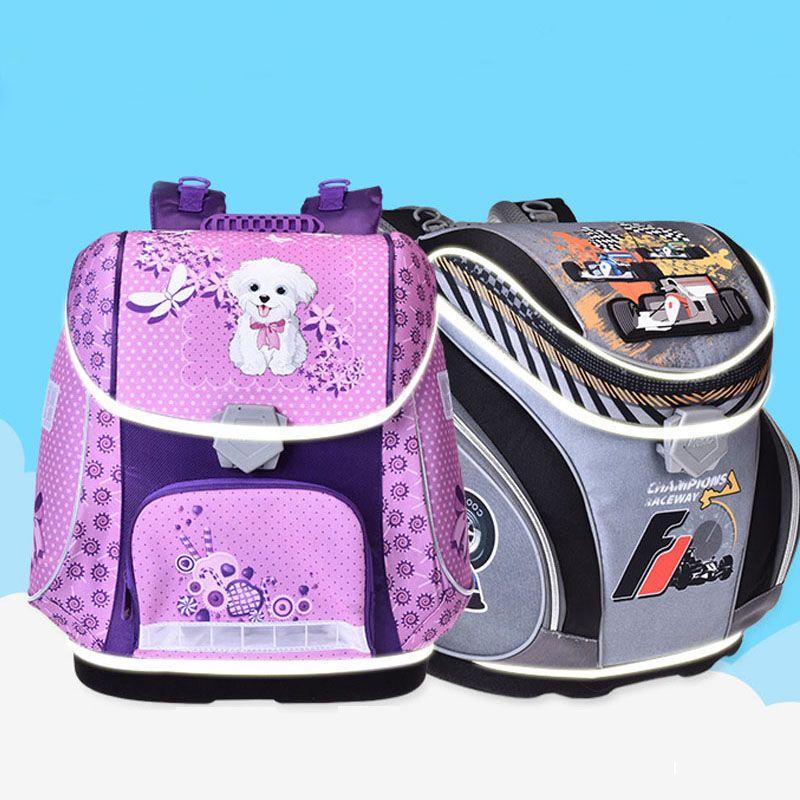 Original MagTaller new School Bags school Backpacks Children Orthopedic Backpack Book bag for boys and Girls mochila infantil