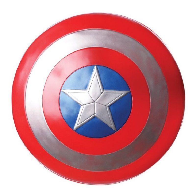 Мстители Капитан 32 см Капитан Америка собрать щит Косплэй игрушка Красный