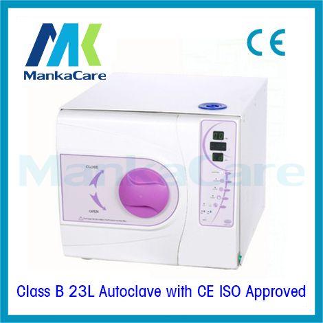 23L Autoklaven in Lila Farbe Dental materialien desinfektion kabinett dental instrumente vakuum sterilisator