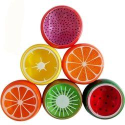 Nouveau Fruits slime jouet Magnétique polymère Argile couleur Cristal boue Boue transparent pour Enfants Main Intelligente À Modeler Boue Pâte À Modeler