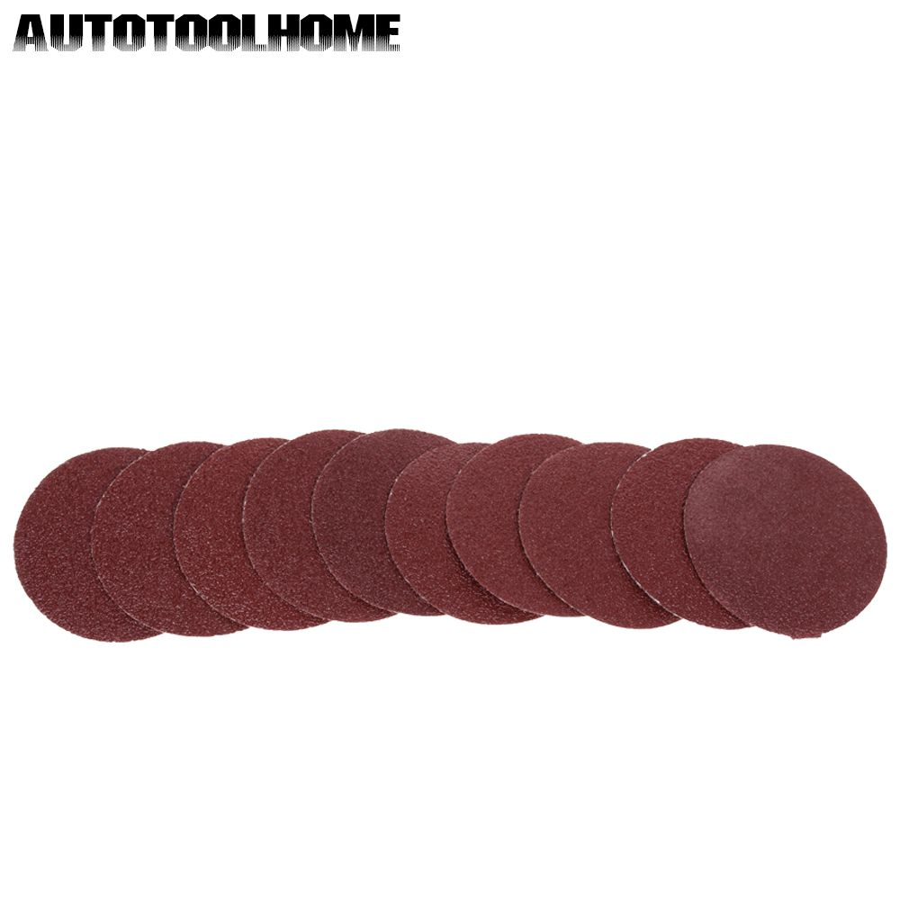 10PC Sanding Disc 60-2000 Grit 3 inch 75mm Sandpaper For Dremel 4000 3000 Sander Machine Self Stick Abrasive Tools Accessories