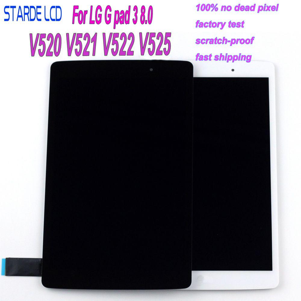 STARDE LCD pour LG G Pad III 3 8.0 V520 V521 V522 V525 LCD écran tactile numériseur assemblée
