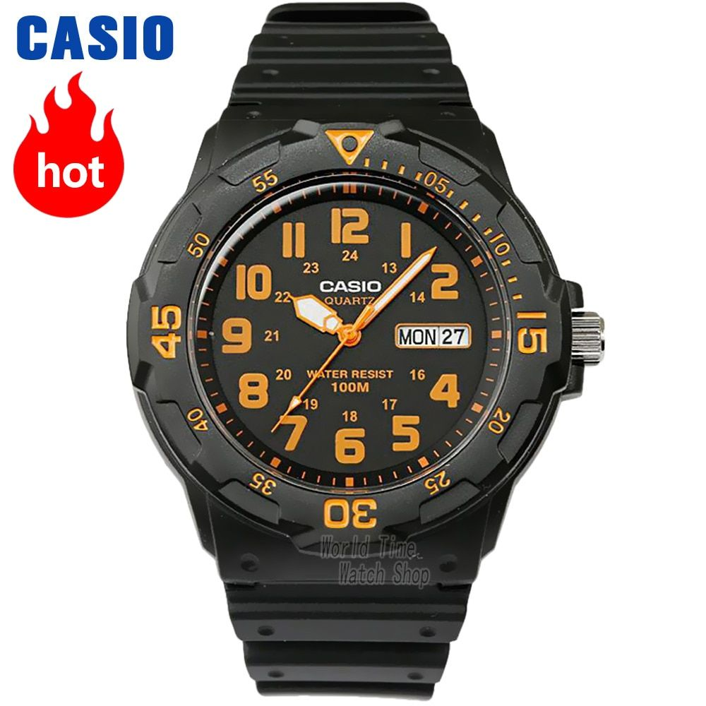 Casio watch Analogue Men's Quartz Sports Watch Fashion Trends Waterproof MRW-200