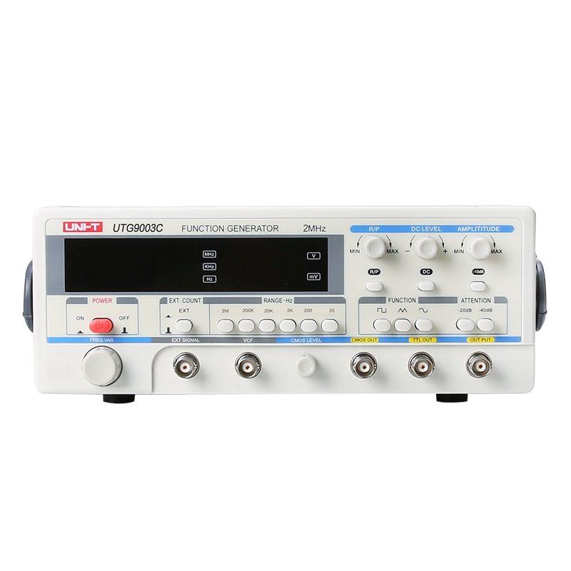 Professional Digital Function Generator High Accuracy Signal Generator UNI-T UTG9003C Frequency Range 0.2HZ-2MHZ 1-25Vpp 0.1mV