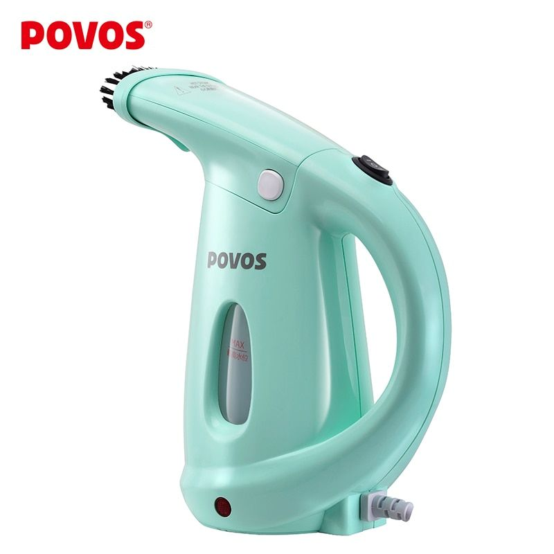 POVOS Garment Steamers Mini Ironing clothes Hand-held Face Steamer for Woman Facial Spa Beauty Skin 220V PW530 only for Russia