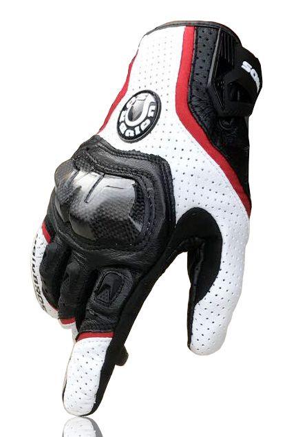 Livraison gratuite UB 390 gants de moto/gants de course/gants en fibre de carbone gants en cuir véritable 3 couleurs