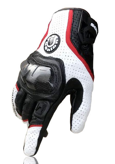 Livraison gratuite UB 390 moto/gants de course/gants en fiber de carbone Véritable gants en cuir 3 couleur
