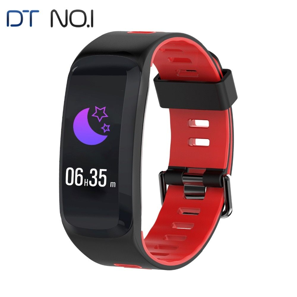 DTNO. ICH F4 Smartband IP68 Bluetooth 4,0 Multi Sport Fitness Armband Herz Rate Monitor BP BO Outdoor Höhe UV Stilvolle Band