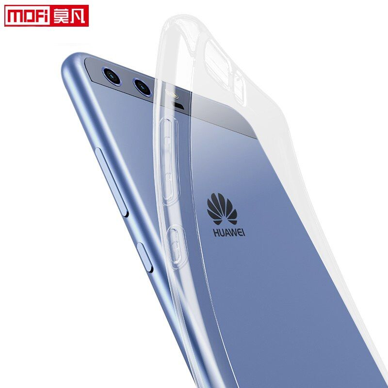 Huawei p10 cas couverture huawei p10 plus cas 5.5 de silicium retour coque clair mince TPU transparent cas pour Huawei P10 VTR-AL00