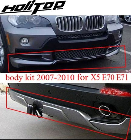 for BM X5 body kit E70 body kit skid plate bumper, 2007 2008 2009 2010,brand new ABS, ISO9001 quality, promotion price