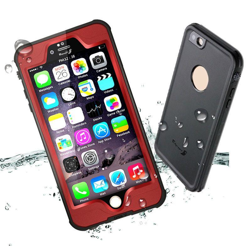Redpepper Delgada Pro IP68 A Prueba de agua para iPhone 6 Carcasa Estanca Cubierta Capinha Coque iPhone 6 s Caso iPhone6 Más Resistente A los Golpes