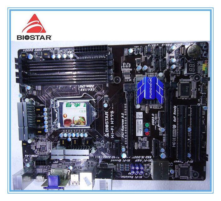 Biostar Hallo-fi H77S original motherboard LGA 1155 DDR3 32GB USB2.0 USB3.0 H77 Desktop motherboard