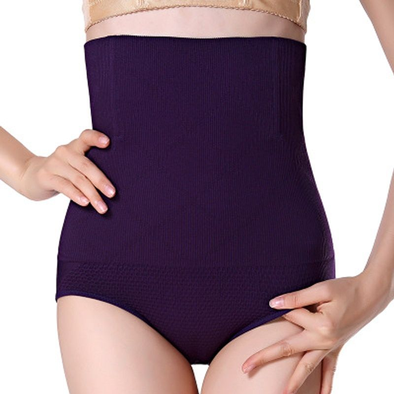 Women High Waist Tummy Control Panties Waist Body Shaper Seamless Belly Waist Slimming Pants Panties Shapewear Girdle Underwear