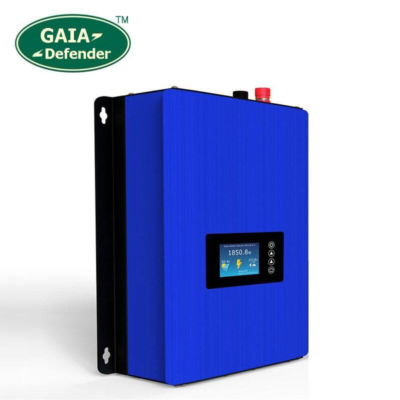 1000W MPPT Solar Grid Tie Power Inverter with Limiter Sensor DC 22-60V / 45-90V to AC 110V 120V 220V 230V 240V connected system