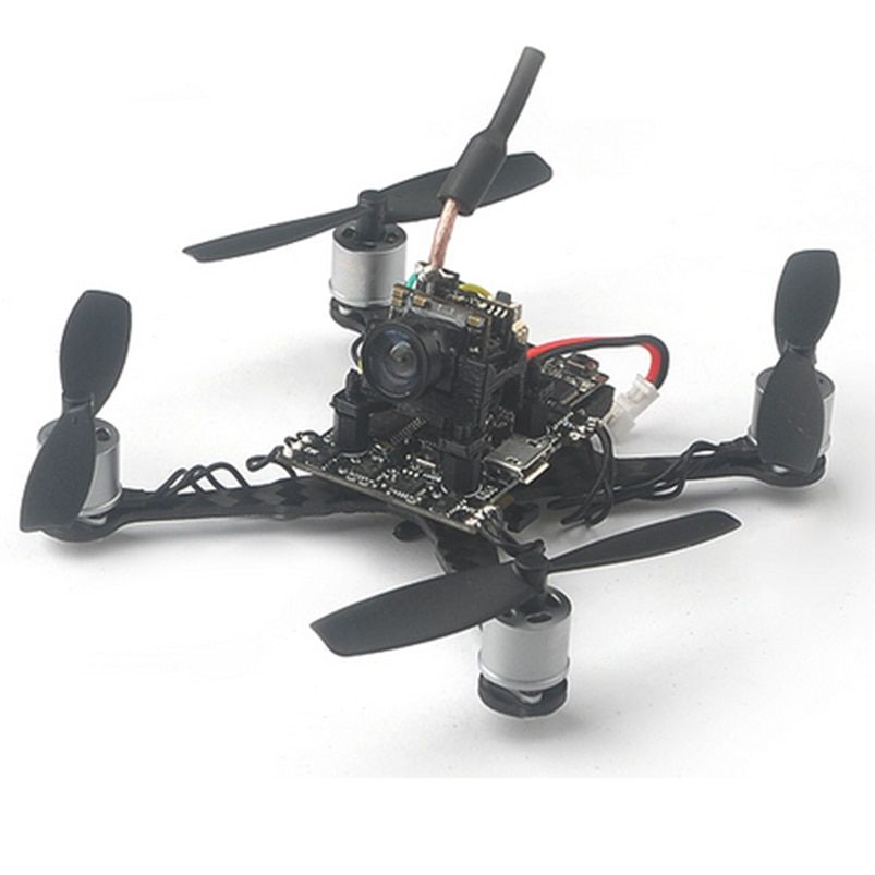 Trainer 90 0706 1S Brushless FPV Drone with Flysky Frsky DSM/2/X Receiver Fusion X3 Flight Control PNP Kit RC Racer Quadcopter