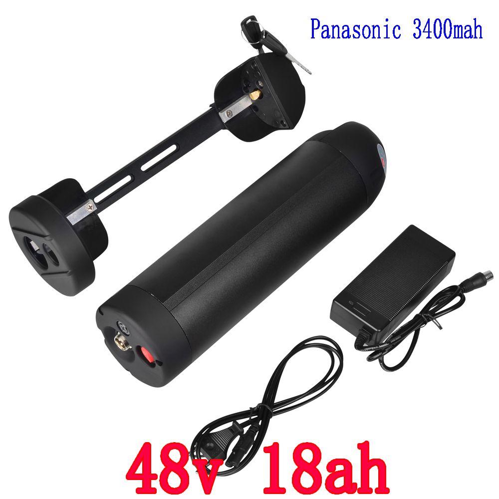 US EU Keine Steuer 48 V 18Ah verwenden für Panasonic zelle Li-Ion Wasserkocher elektrische fahrrad batterie für Bafang 750 Watt BBSHD motor kit