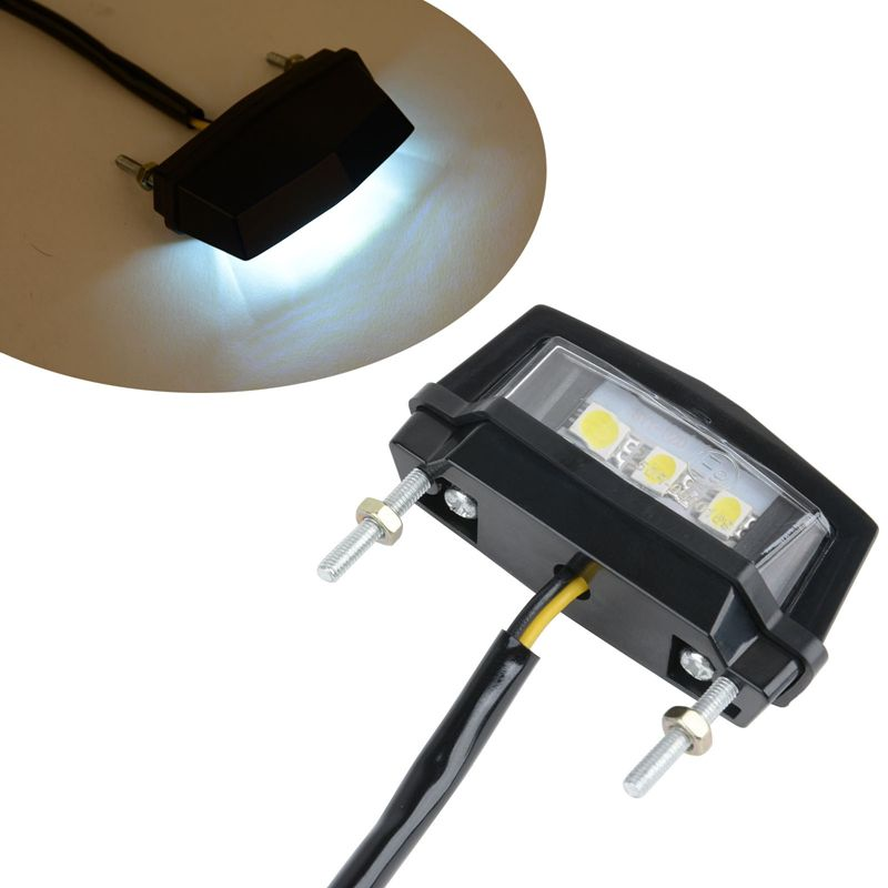 Hohe Qualität Mini LED Kennzeichen LED Lampe 12 V Hinten Schwanz für Honda Kawasaki Yamaha Suzuki