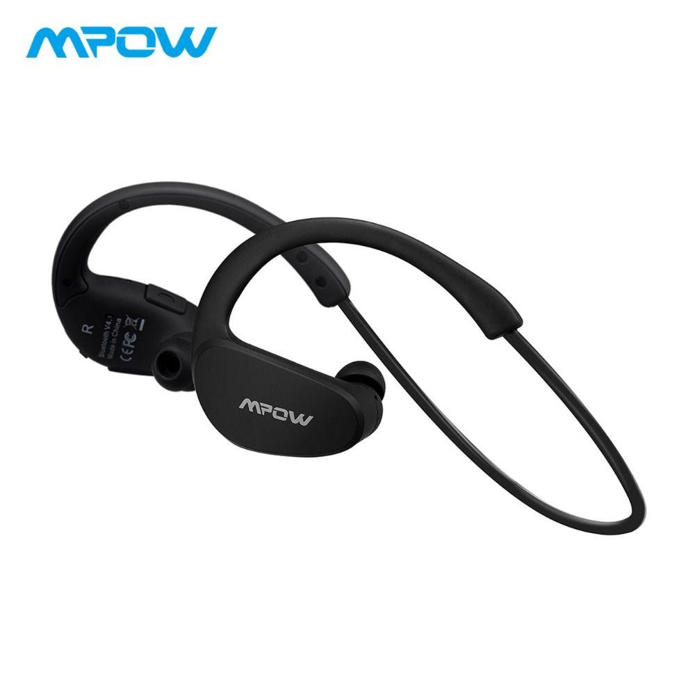 D'origine Mpow Guépard Bluetooth Casque écouteurs sans fil Portable écouteurs imperméabs Sport casque avec micro & AptX Stéréo