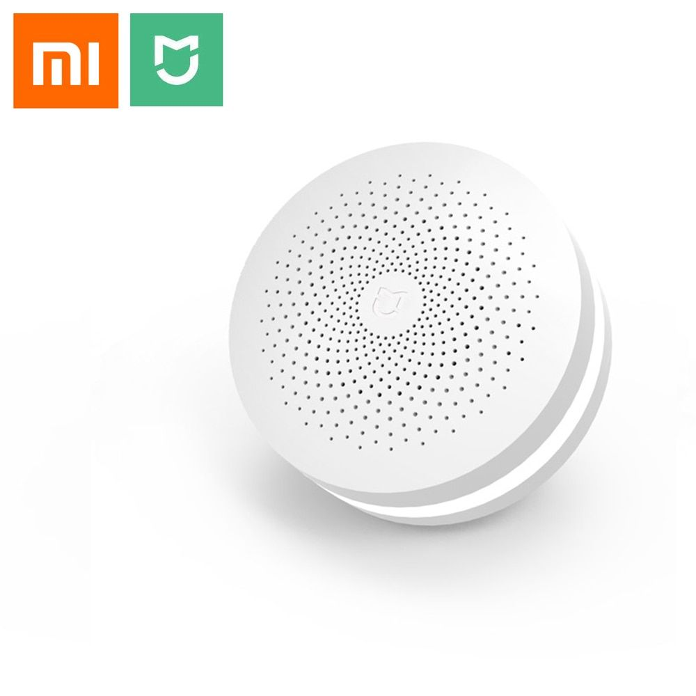 Xiaomi multifonctionnel Gateway 2 Smart Control Center Smart Home Kit mise à niveau Version deux commandes intégré anneau de sonnette Radio