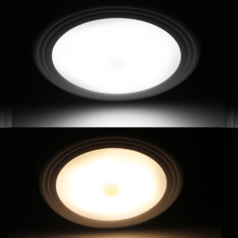 PIR Motion Sensor Under Cabinet Closet Light Magnetic Wireless Detector 6 LED for Bedroom Kitchen Wall Ceiling Light Lamp