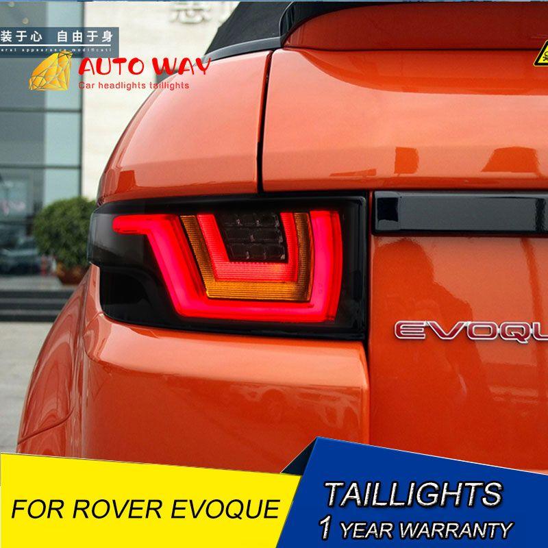 Schwanz licht LED hinten lichter parkplatz rückleuchten LED rücklicht fall für Range Rover Evoque rücklicht 2012-2018 Auto styling