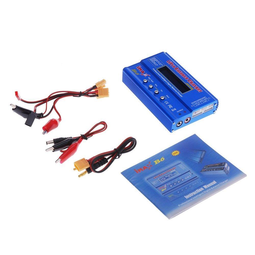 Haute Qualité iMAX B6 Lipro NiMh Li-ion Ni-cd RC Solde Chargeur de Batterie Numérique pour NiMH NiCd Batterie 80 W Max