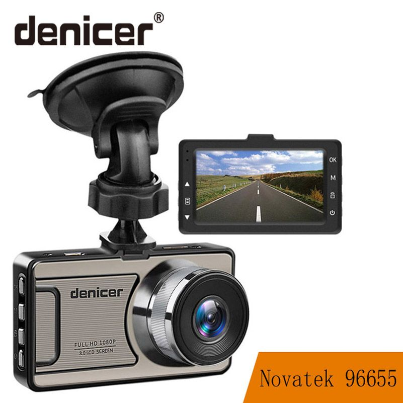3 Car Dash Camera <font><b>Vehicle</b></font> Cam Full HD 1080P DVR 170 degree wide Angle in Car Video Recorder Dashboard Camera With Night Vision