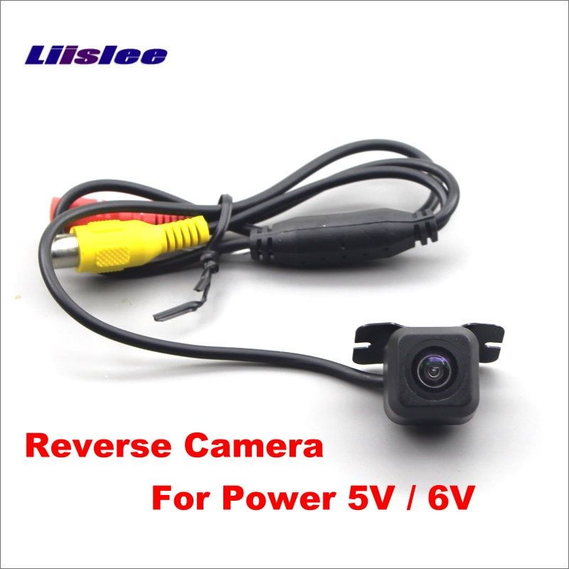 Liislee 5V 6V Car Reverse Parking Camera / Auto HD CCD Reversing Back Up Rear View Camera ( Not for 12V DC Power )