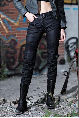 2016 The newest Ms uglyBROS Johnny ubs08 jeans a plastic wind restoring ancient ways motorcycle ride jeans women pants jeans