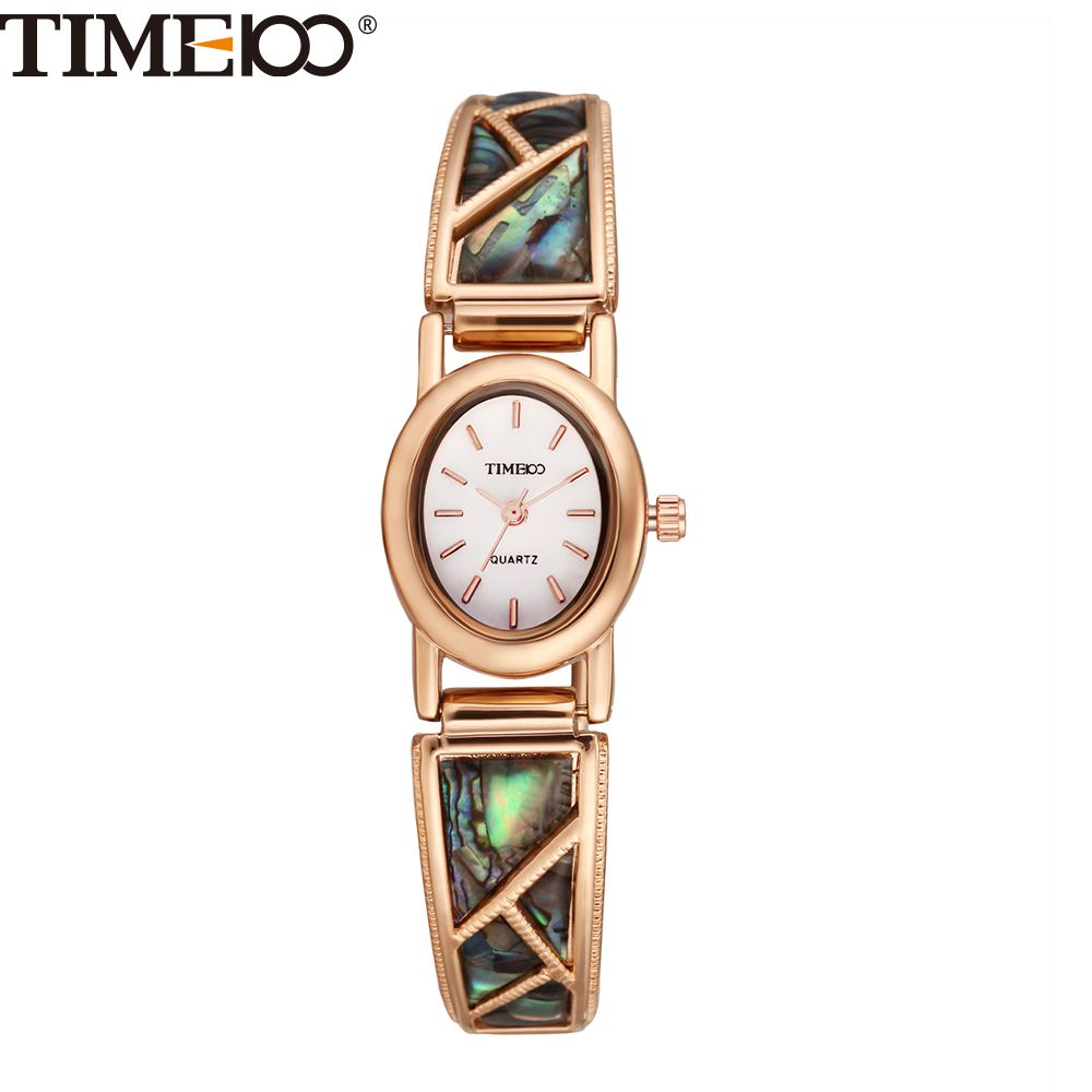 TIME100 Vintage Women Bracelet Watch Analog Quartz Rhinestone Clasp Alloy Strap Dress Wrist Watches For Women relojes de marca