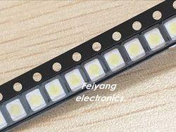 100 PCS Original et nouveau Pour LG LED Rétro-Éclairage 1210 3528 2835 1 W 100LM blanc Froid LCD Rétro-Éclairage pour TV TV Application