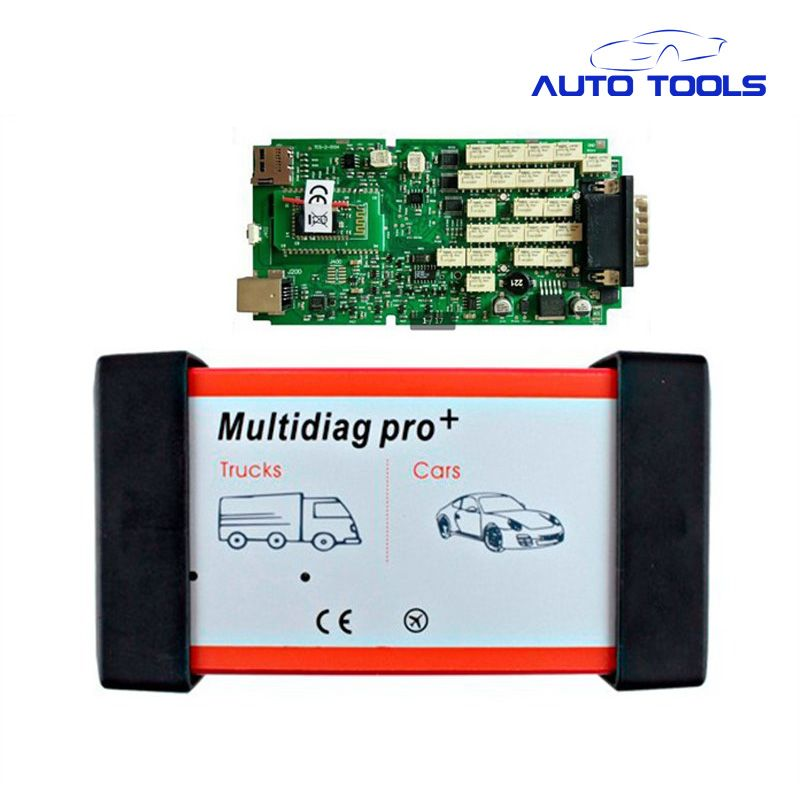 5pcs/lot DHL FREE high quality New MultiDiag Pro PLUS TCS cdp scanner with bluetooth+2015.3 version with single pcb board vci