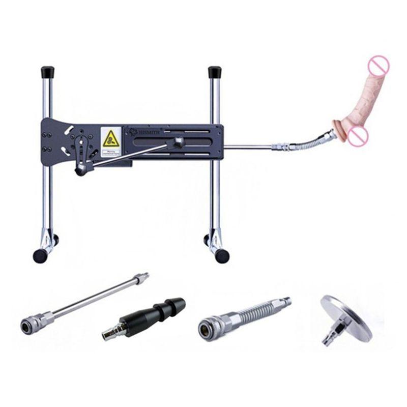 HISMITH Extrem Ruhig Automatische Sex Maschine Vac-u-Sperre Turbo Getriebe Power 120 W 11 kg Solide Stahl rahmen Liebe Maschinen für Frauen