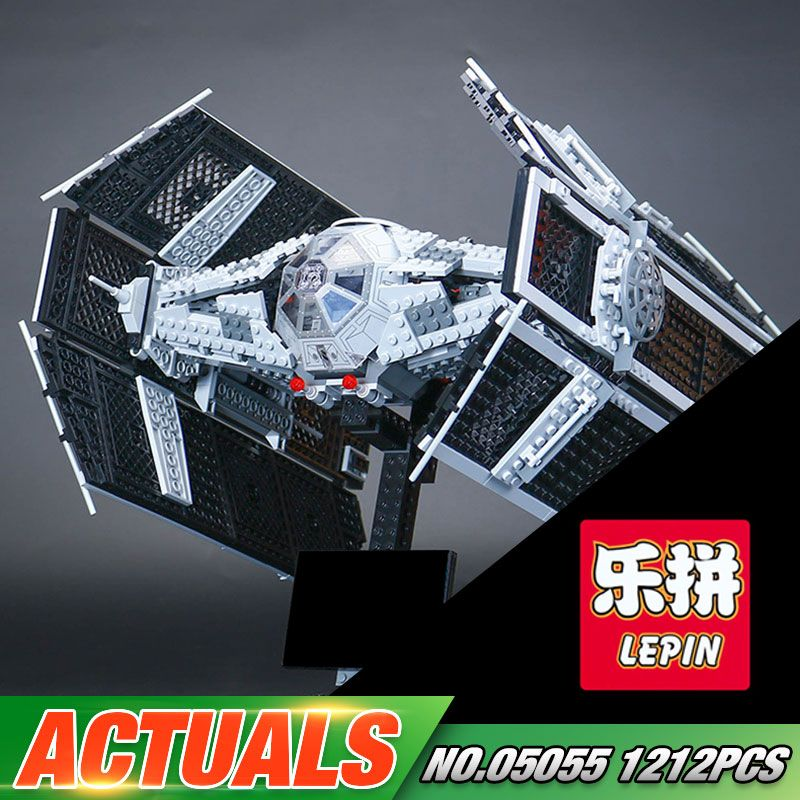 Lepin 05055 Star Series War The Rogue Set One USC Model Tie Toys Advanced Fighter Set 10175 Building Blocks Bricks Toys Gift