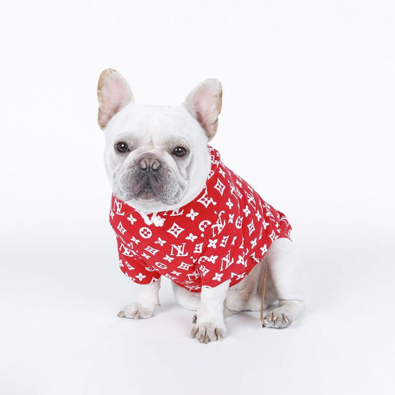 2018 new spring Fashion dress Japanese pure cotton elastic pet clothing The dog Hoodie