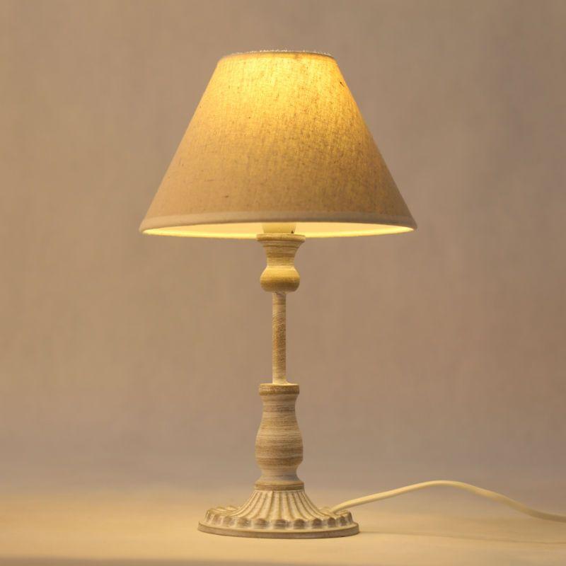 2 Pack Arte Lámpara De Mesa Decoración Sostenedor E14 Bombilla LED Lámparas de Escritorio, accesorios de Iluminación Hogar de Noche