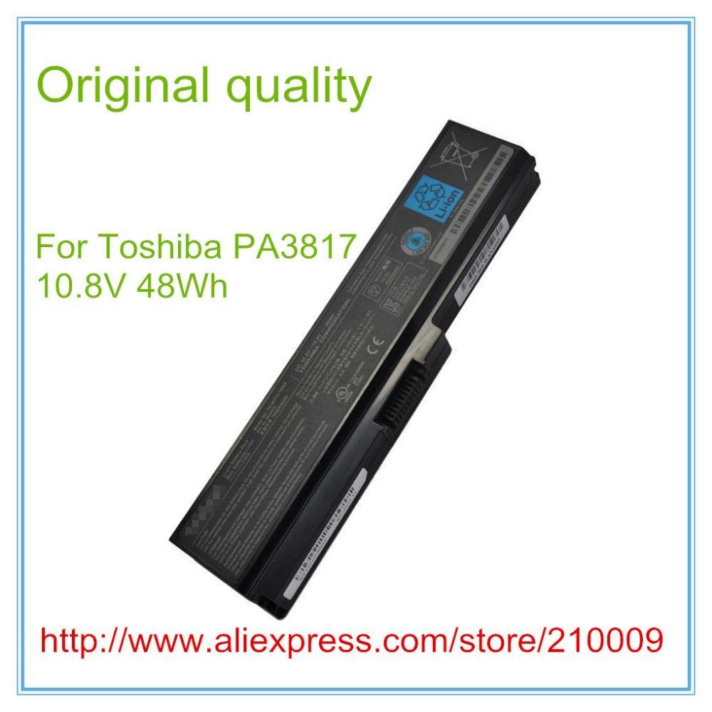 Original qualität Batterie Für L630 L650 L645 L655 L600 L700 L730 L735 L740 L745 L750 L755 PA3817U-1BRS PABAS228 PA3817, PA3817U