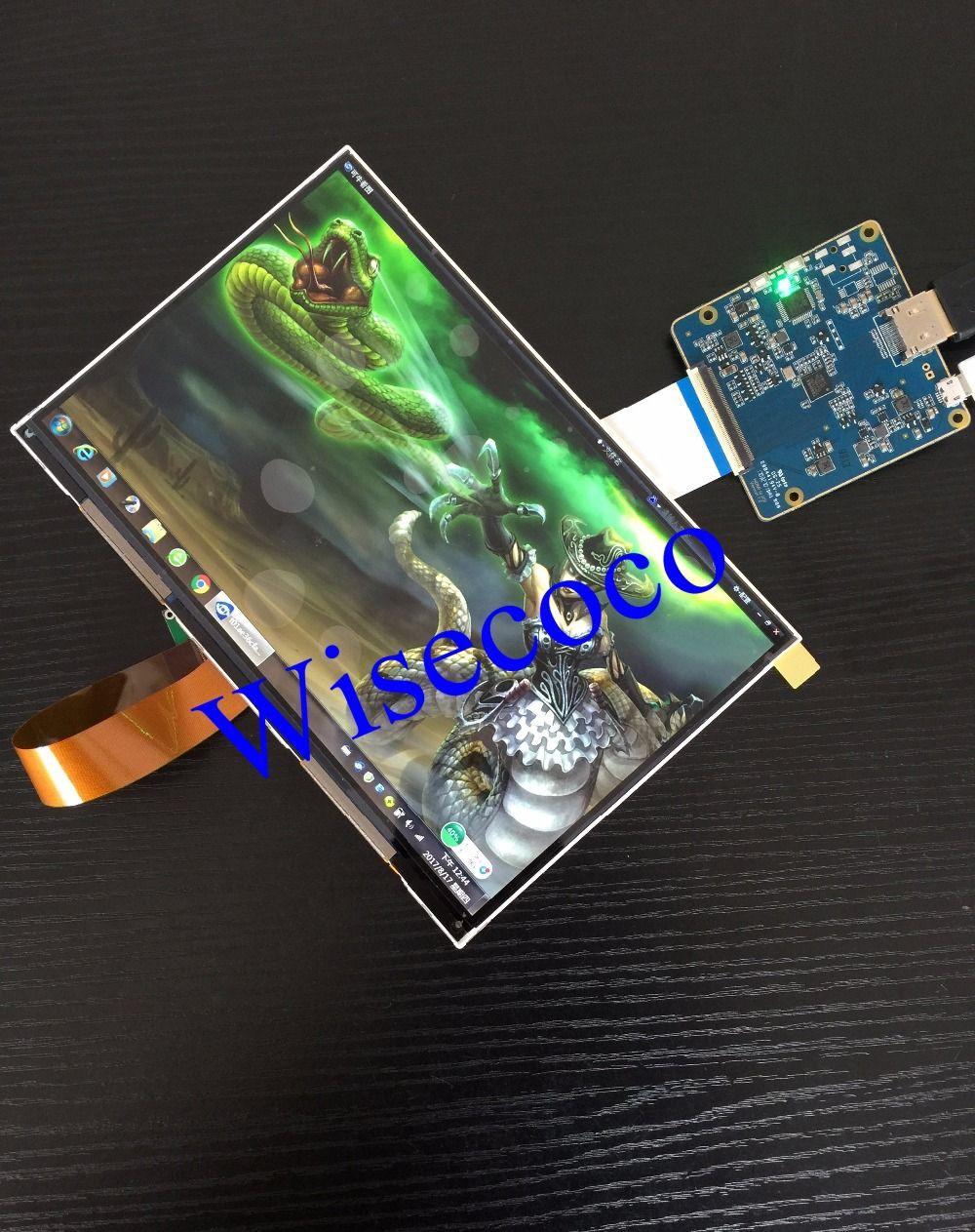 8,9 zoll 2560*1600 WQXGA 2 Karat Lcd-modul-anzeigeschirm Stick Bord HDMI Display DIY Projektor Kit 3D Drucker Monitor