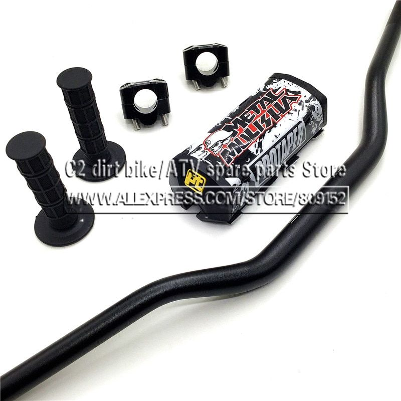 Motorcycle Motocross 1 1/8 28mm <font><b>Handlebars</b></font> Kit Fat Bar Handle Tubes For KTM CRF YZF WRF RM KXF Pit Dirt Bike Off-road Enduro
