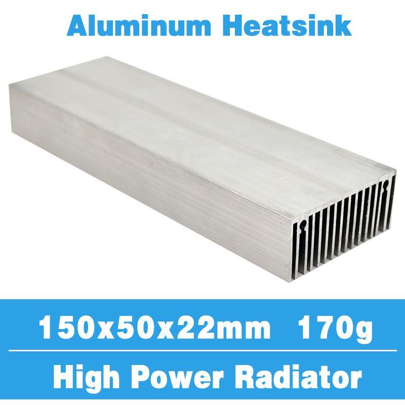 150x50 Radiateur Radiateur En Aluminium Dissipateur de Chaleur De Refroidissement Refroidisseur Fit LED Transistor IC Module Puissance PBC Dissipation de La Chaleur pour LED puce
