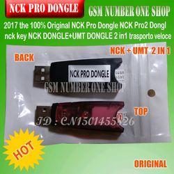 Gsmjustoncct 100% original NCK pro dongle NCK Pro2 dongl NCK clave NCK dongle UMT dongle 2 IN1 envío rápido