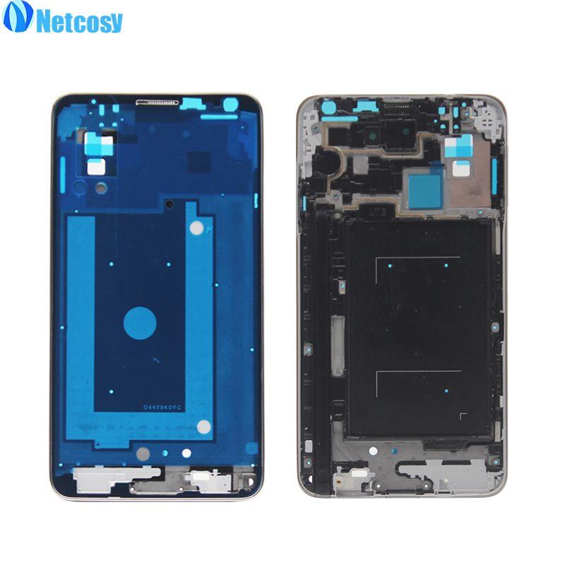 Netcosy Mid Mittleren Frame Gehäuse Platte Lünette Abdeckungsfall Für Samsung Galaxy Note 3/anmerkung3 N9005 Ersatzteile Reparatur teil