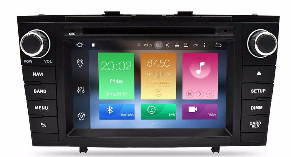 4G LTE IPS NEW IPS!!!Android 8.0 7.1 Car dvd Player For Avensis T25 2008 2009 2010 2011 2012 2013 Auto Radio RDS 3G WIFI OBD DVR