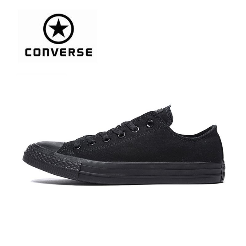 New Arrival Authentic Converse Classic Breathable Canvas Low Top <font><b>Skateboarding</b></font> Shoes Unisex Anti-Slippery Sneakers