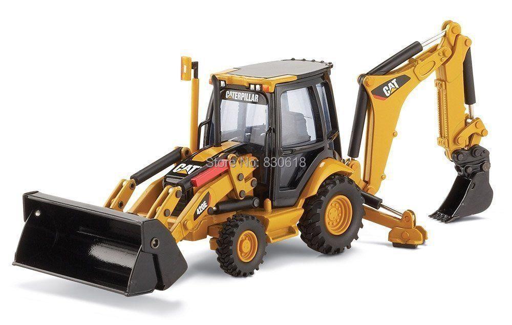 1:50 skala Goß Vorbildliche 55143 norscot caterpillar cat 420E ZENTRUM PIVOT BAGGERLADER spielzeug