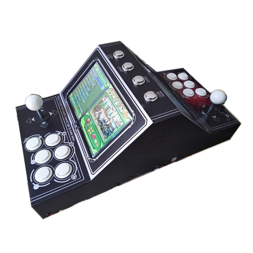 2200 games dual-screen game machine rocker arcade free to add game show classic face-to-face game Street Fighter three explosion