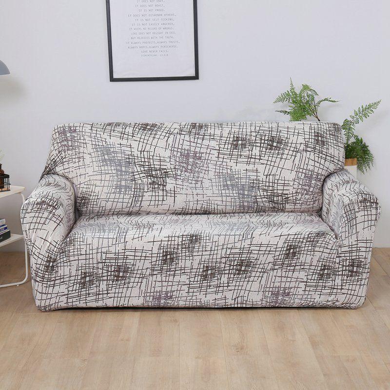 1 PC housse de canapé enveloppement serré tout compris housse de siège extensible antidérapant élastique canapé serviette simple/deux/trois/quatre places
