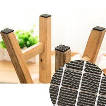 Шт. 12 шт.. мебельные ножки ноги липкий коврик защита деревянный пол царапина Горячий