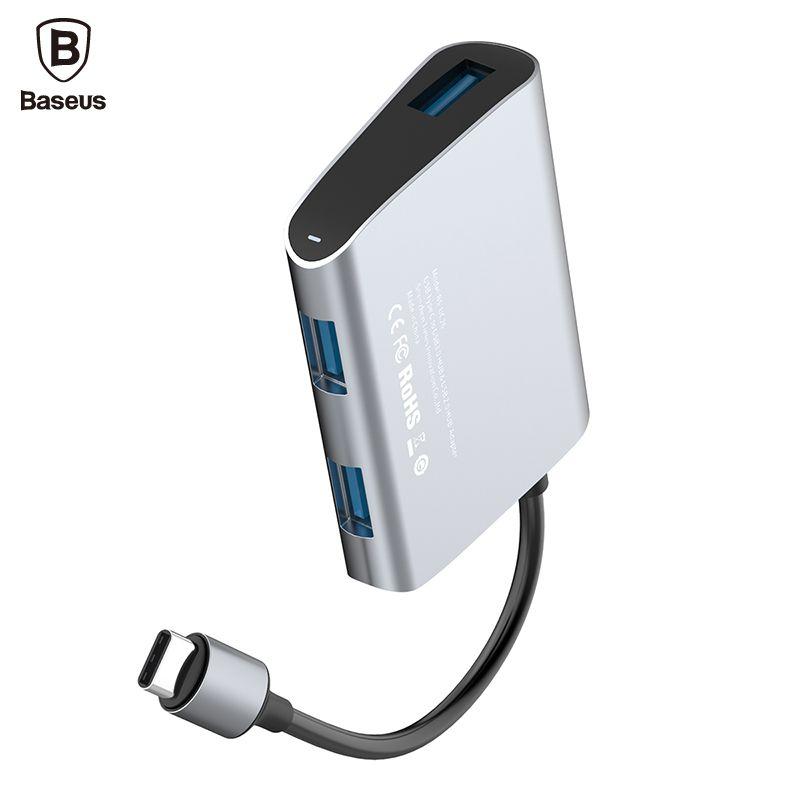 Baseus USB-C Typ C HUB mit USB C Typc-c zu USB 3.0 USB 2.0 Adapter HUB Für Macbook Pro